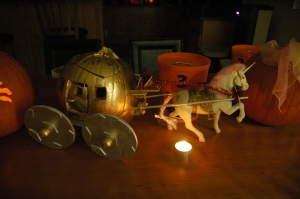 Cinderella's carriage pumpkin