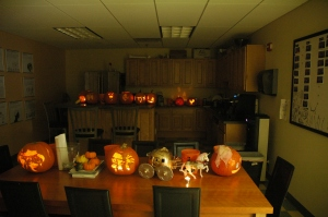 Poster Hero Pumpkin Carvings